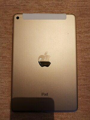 Apple iPad mini 3 Wi-Fi + Cellular - Gold READ DISCRIPTION
