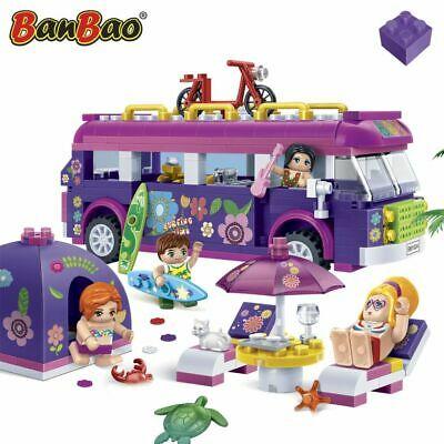 BanBao Beach Party Children Pretend Building Brick Set