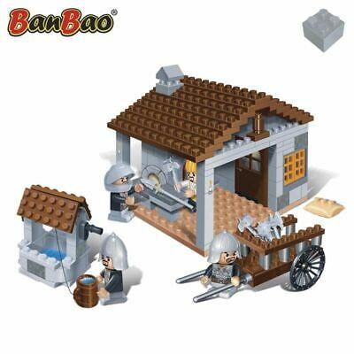 BanBao Blacksmith Children Brick Building Toy Interlocking