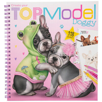 Depesche TOPModel Create Your TOPModel Doggy Colouring Book