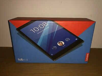"Lenovo Tab 4 16GB, Wi-Fi, 8"" Tablet - Black"