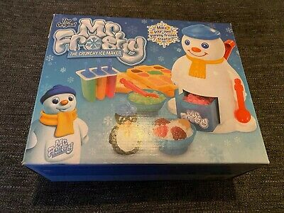 MR FROSTY The CRUNCHY ICE MAKER Lolly Kids Sweets Ice Toy
