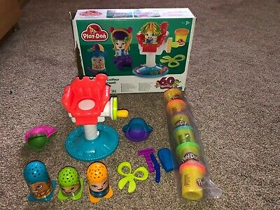 Play-Doh Crazy Cuts Hair Dressers Accessories Set.Complete &