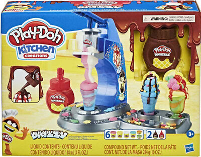 Play Doh Drizzy Ice Cream Kitchen Creations Playset