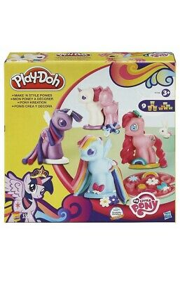Play-Doh My Little Pony Make 'N Style Ponies Girls Toy