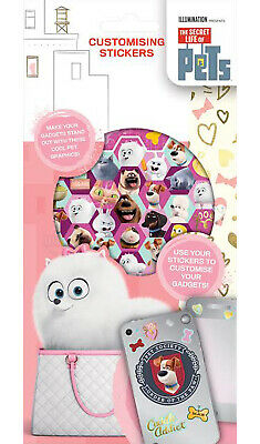 The Secret Life of Pets Set of 300+ Customising Stickers 6