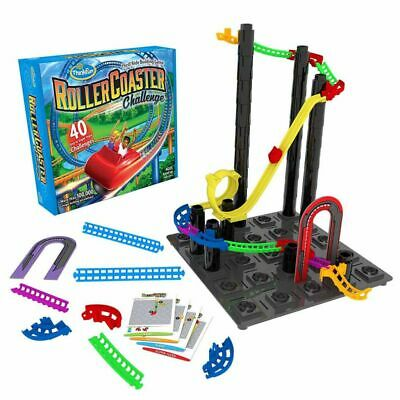 Thinkfun Thrill Ride Building Game Logic Puzzle Roller