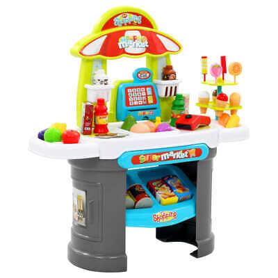 vidaXL Kids' Pretend Shop Play Set 51 Pieces Multicolour