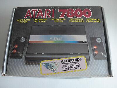 Atari  Console Boxed Complete - PAL UK - AMAZING