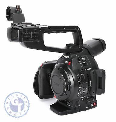 Canon EOS C100 Mark II Cinema Camera w/ Dual Pixel CMOS AF