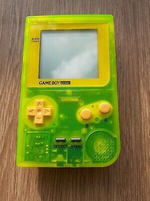Nintendo Game Boy pocket glow in the dark console