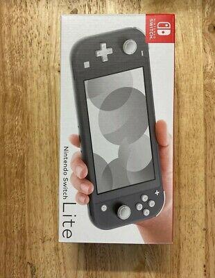 Nintendo Switch Lite Grey Handhled System. Brand New.