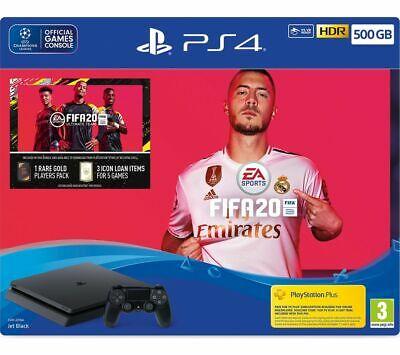 ⚽ Sony PlayStation GB FIFA 20 Bundle 8 GB GDDR5 - Jet