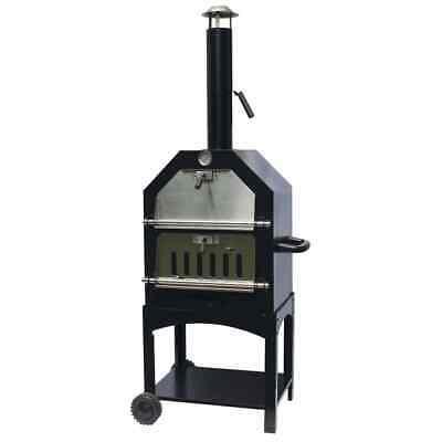 BBGRILL Outdoor Pizza Oven Lorenzo Black Barbecue Grill