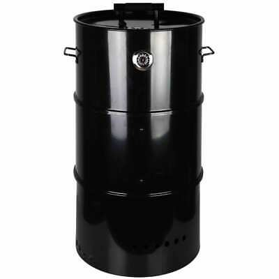 Esschert Design Barrel BBQ Smoker L Outdoor Cooking Barbecue