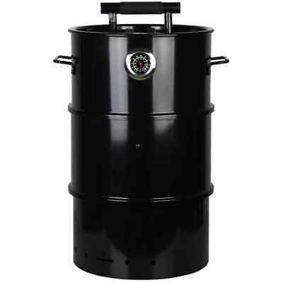 Esschert Design Barrel BBQ Smoker S Outdoor Cooking Barbecue