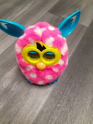 Furby Boom Pink & White Spots Interactive Electronic Pet by