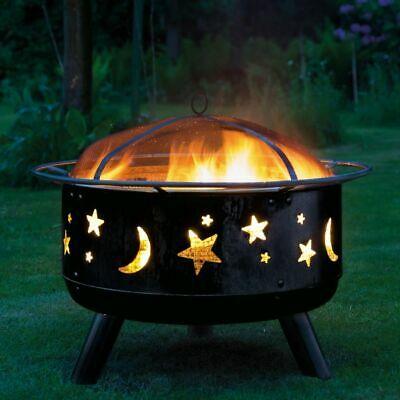 Landmann Fire Pit Stars & Moon  Outdoor Fireplace