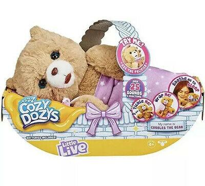 Little Live Pets Cozy Dozys Brand New In Box
