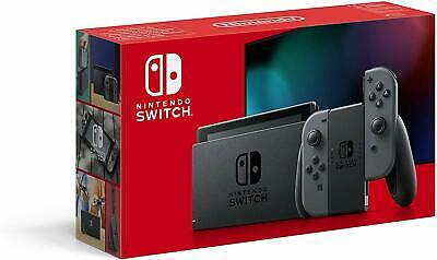 NINTENDO SWITCH - GREY WITH IMPROVED BATTERY - NEW - SLIGHT