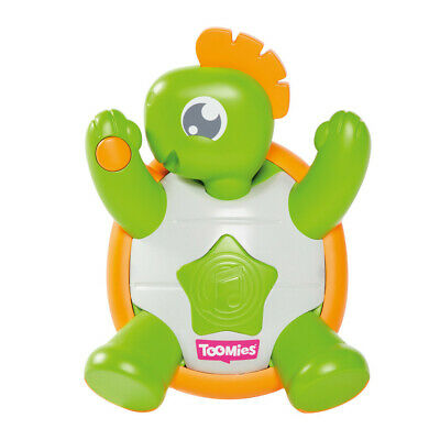 E TOMY TOOMIES Tickle Time Turtle Baby Toddler Kids Toy