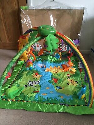 Fisher-Price Baby Rainforest Music and Lights Deluxe Gym