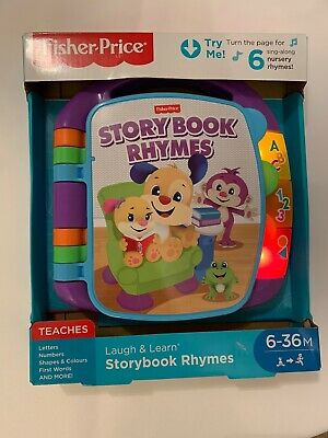 Fisher-Price Laugh & Learn Story Book Rhymes│Letters,
