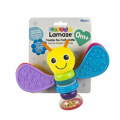 LC Lamaze Freddie the Firefly Rattle Teether Toy Baby