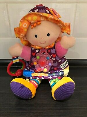 Lamaze Sensory Crinkley My Friend Emily Doll Soft Baby Toy