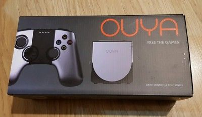 OUYA Game Console & Controller. BRAND NEW FACTORY SEALED