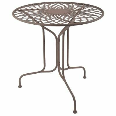 Esschert Design Table Metal Old English Style Outdoor Garden