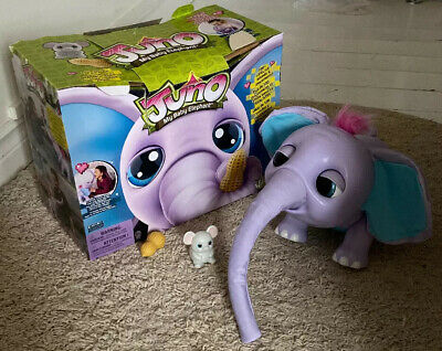 Juno The Baby Elephant My Interactive Kids Toy With Moving