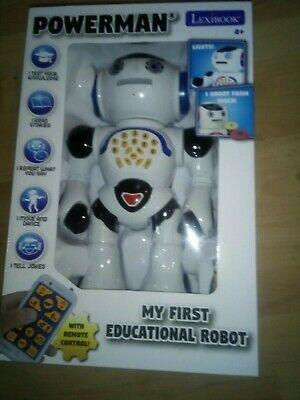 Lexibook Powerman My First Robot Childrens Kids Educational
