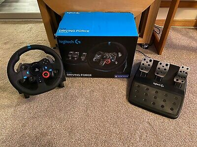 Logitech G29 Racing Wheel and Pedals for PS4, PS3 & PC