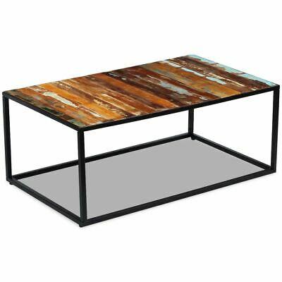 vidaXL Coffee Table Desk Furniture Home Decor Solid