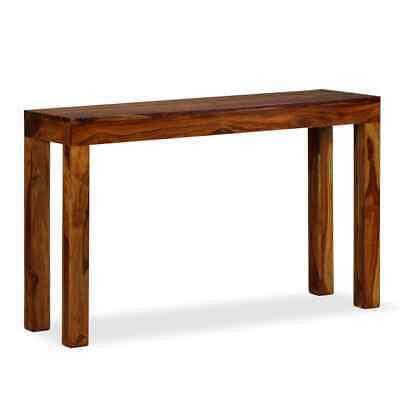 vidaXL Solid Sheesham Wood Console Table 120x35x75 cm