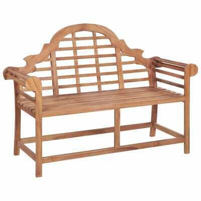 vidaXL Solid Teak Garden Bench Outdoor Marlboro Furniture