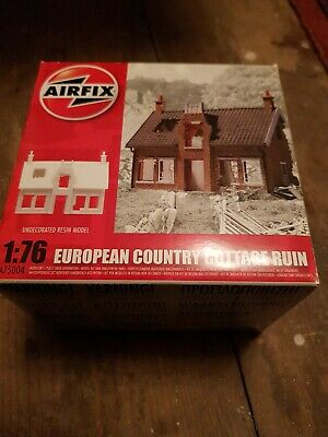 Airfix A Scale European Country Cottage Ruin