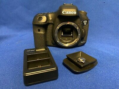 CANON EOS 7D MARK II 21MP DIGITAL SLR CAMERA BODY ONLY