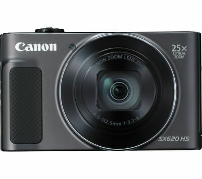 CANON PowerShot SX620 HS Superzoom Compact Camera - Black
