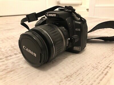 Canon EOS 400D 10.1MP SLR Camera - Black (Kit w/ mm