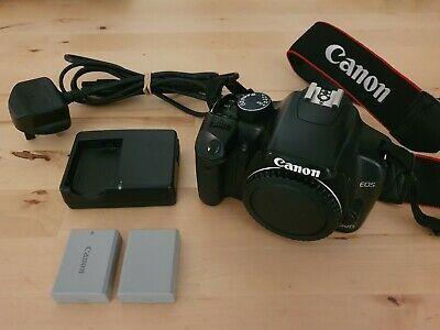 Canon EOS 450D 12.2MP Digital SLR Camera - body, 2x