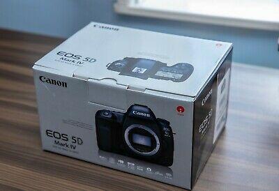Canon EOS 5d Mark IV 4k DSLR Camera (Body Only), New