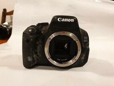 Canon EOS 600D 18.0 MP Digital SLR Camera - Black (Body).