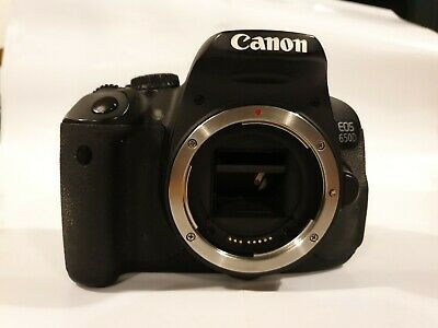 Canon EOS 650D /18.0 MP Digital SLR Camera - Black. SPARES