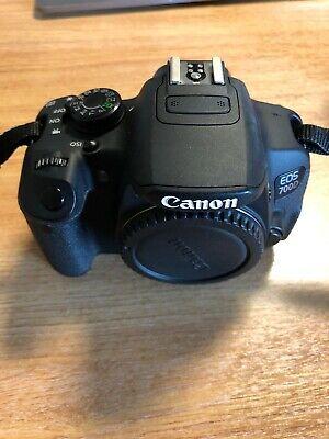 Canon EOS 700D 18.0MP Digital SLR Camera - Black (Kit w/