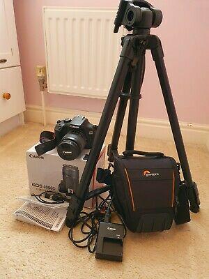 Canon EOS D 18 MP Digital SLR Camera Kit - *Bundle*