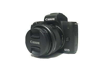 Canon EOS M50 Mirrorless Digital Camera with mm Lens -