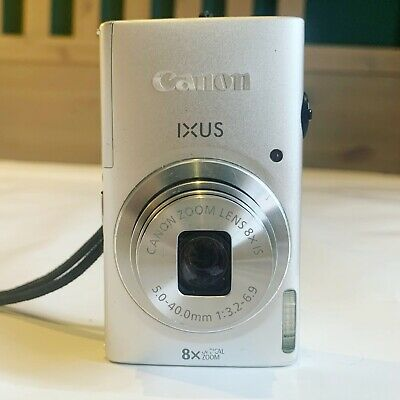 Canon IXUS 140 / ELPH 130 IS 16.0MP Digital Camera - Silver