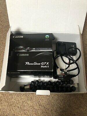 Canon PowerShot G7 X Mark II Digital Camera And Vlogging